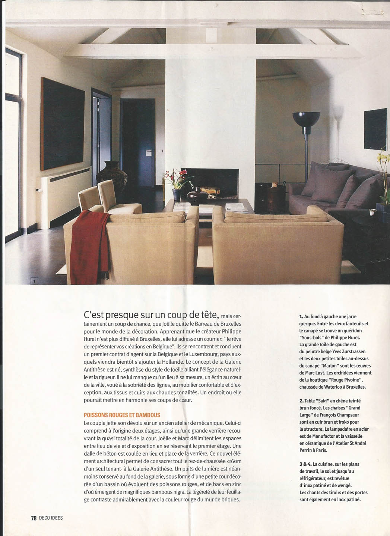 Perspectives - Joëlle Callebaut: Interior Designer & Architect in ...